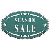 Season sale label vector illustration