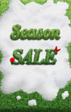 Season Sale Royalty Free Stock Photo