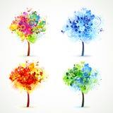 Season  tree Royalty Free Stock Photos