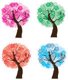 Season trees Royalty Free Stock Photography