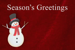 Season& x27;s Greetings greeting Royalty Free Stock Photo