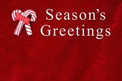 Season& x27 ; salutations de s saluant Images libres de droits