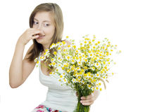 Seasonal allergy Royalty Free Stock Photos