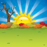 Seasonal background Stock Image