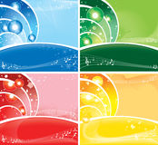 Seasonal backgrounds with copyspace Royalty Free Stock Image