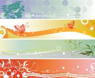 Seasonal banners Royalty Free Stock Image