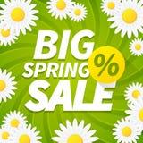 Seasonal Big Spring Sales Business Background Stock Images