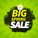 Seasonal big spring sales business background Stock Photography