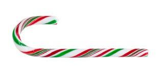 Seasonal Candy Cane on White Background Royalty Free Stock Image
