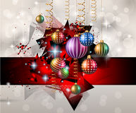 Seasonal Christmas Background for your Christmas Flyers, Royalty Free Stock Photography