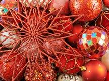 Seasonal Christmas decoration background Royalty Free Stock Photography