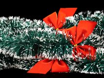 Seasonal Christmas decoration background Stock Photos