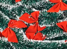 Seasonal Christmas decoration background Stock Photography