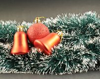 Seasonal Christmas decoration background Stock Image