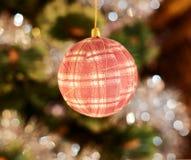 Seasonal Christmas decoration background Stock Photo
