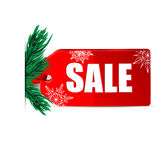 Seasonal Christmas sale Royalty Free Stock Photography