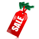 Seasonal Christmas sale Royalty Free Stock Images