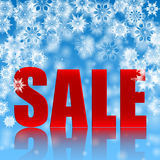 Seasonal christmas sale Stock Images