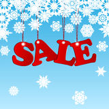 Seasonal christmas sale Royalty Free Stock Photo