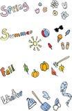 Seasonal Elements Royalty Free Stock Image