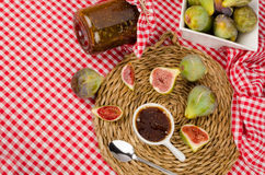 Seasonal fig preserve Stock Photography