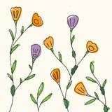 Seasonal floral background Royalty Free Stock Image