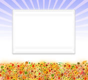 Seasonal frame background Royalty Free Stock Photos