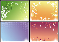Seasonal frames Royalty Free Stock Image