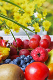 Seasonal fruit Stock Photos