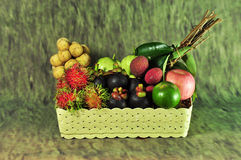 Seasonal fruit Thailand Royalty Free Stock Photos