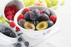 Seasonal fruits and berries Stock Photography