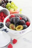 Seasonal fruits and berries Stock Image