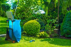 Seasonal Garden Cleaning Royalty Free Stock Photos