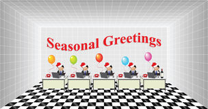 Seasonal Greetings Stock Image