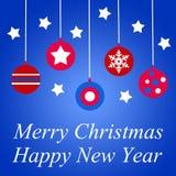 Seasonal greetings stock illustration