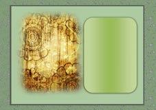 Seasonal greetings card Stock Image
