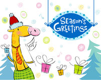 Seasonal greetings Royalty Free Stock Photo
