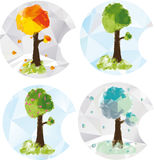 Seasonal icons Stock Photography