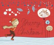 Seasonal illustration Stock Photo