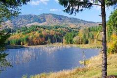 Seasonal landscape - autumn Stock Photo