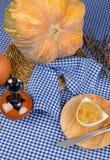 Seasonal pumpkin sweet Royalty Free Stock Photo