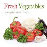 Seasonal raw vegetables Stock Images