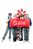 Seasonal sale Stock Photo