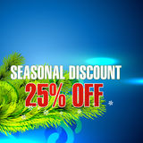 Seasonal sale Royalty Free Stock Image