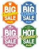 Seasonal Sale Royalty Free Stock Image