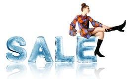 Seasonal sale Royalty Free Stock Photos