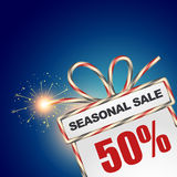 Seasonal sale discount Stock Image
