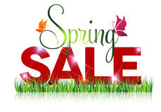 Seasonal sale offer message. Royalty Free Stock Photography