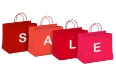 Seasonal sale - shopping bags Stock Photo