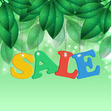 Seasonal sale Royalty Free Stock Photos
